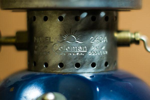 コールマン ランタン 243A